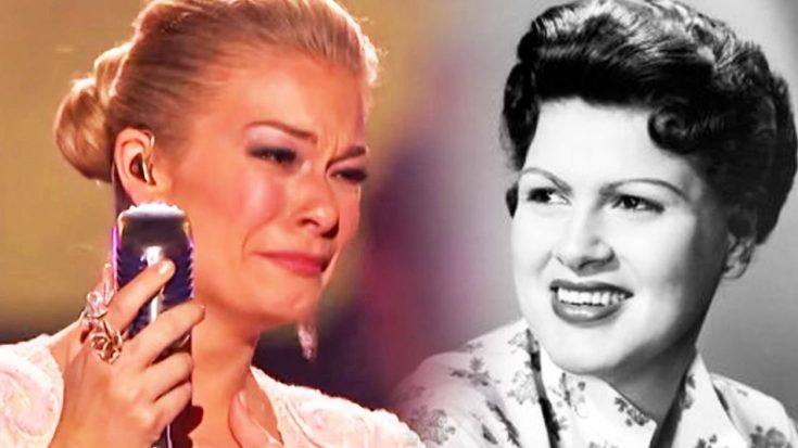 LeAnn Rimes Sings Through Tears In This Glorious Patsy Cline Medley – Country Music Family