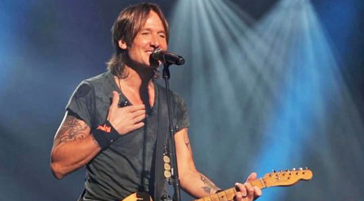 Keith Urban Lays His Heart On The Line In Song Co-Written By Ed Sheeran