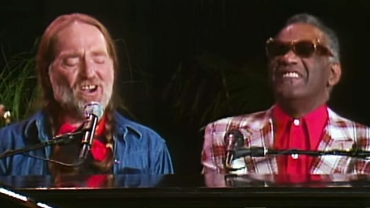 Willie Nelson & Ray Charles Mystify Crowd With Beautiful