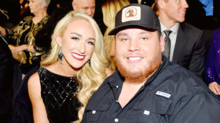 569a42d2c073e Luke Combs Pops The Question To Longtime Love In Secret Kitchen Proposal