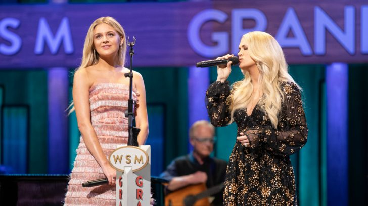 Carrie Underwood Makes Unexpected Appearance To Induct Kelsea