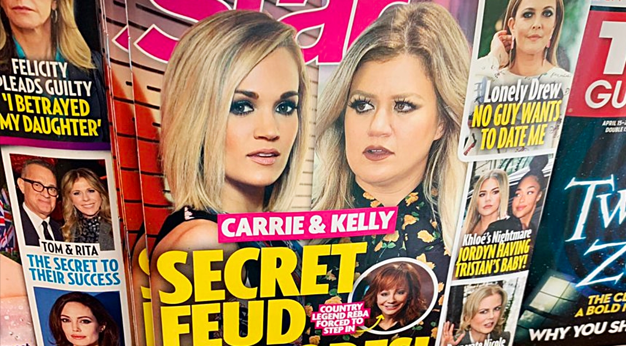 Kelly Clarkson Addresses Rumors Of Feud Between Her And Carrie Underwood