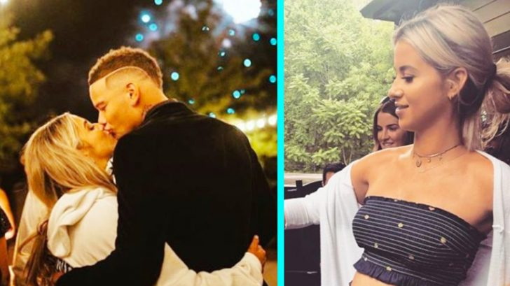 2f253a51f Kane Brown's Wife Katelyn Flaunts Growing Baby Bump On 4th Of July ...