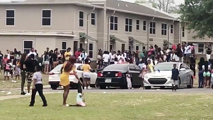 SMH:  Police Take 2 Hours To Break Up A 100 Deep Block Party on Easter [VIDEO]