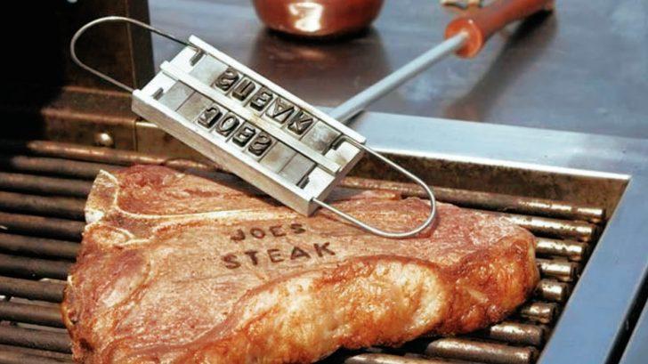 BBQ Fans Letter L Steak Branding Iron